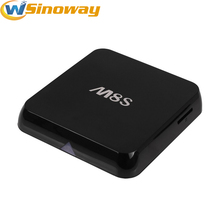 2pcs Quad Core M8S S812 Android 4.4 TV Box Kodi/XBMC 2.4/5GHz 2G RAM 8G ROM wifi 1080p support youtube smart Mini PC android(China)