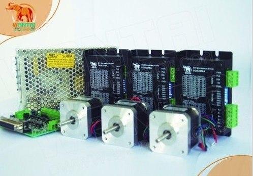 3Axis Cnc Nema17 Wantai stepper motor with 4000g.cm &amp; 1.7A,12-36VDC,128 driver<br><br>Aliexpress