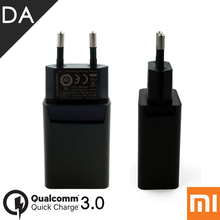 Original Charger For Xiaomi Mi5 EU Plug Quick Charge 3.0 QC3.0 Fast EU Charger Xiaomi Mdy-08-DF Mi6 MAX2 Mi5S Plus EU Adapter