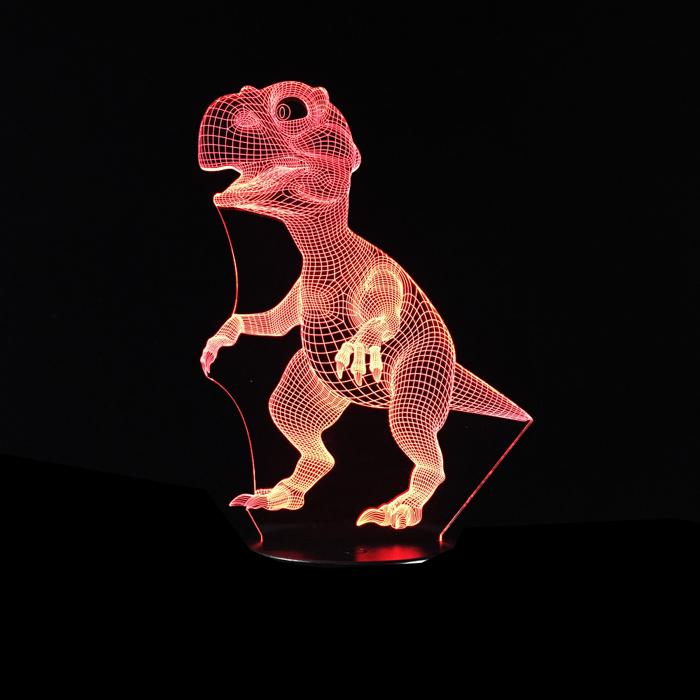 Dinosaur 3D LED Lamp 4