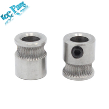 MK8 Driver Gear 9mm*5mm*11mm Part For Extruder 1.75mm 3.0mm Filament 3D Printers Parts Extrusion Wheels 5mm Pulleys Accessories(China)