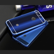 Shockproof Aluminum Metal Bumper For Google Pixel / Pixel XL Luxury Phone Frame Case With Plastic Back Cover