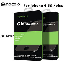 "Signature Mocolo full cover 3d screensaver premium tempered glass for iPhone 6 Plus 4.7 5.5 ""for iPhone 6 6s s plus glass film(China)"
