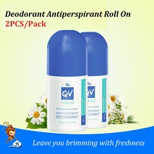 2PCS Fragrance &alcohol Free EGO Naked Anti-Perspirant Deodorant Stay cool dry with sensitive skin Leave brimming with freshness