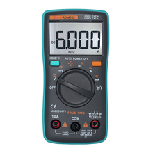 Bside ZT102 Big Screen Auto Range Digital Multimeter AD DC Current Voltage Resistance Temperature Capacitance Frequency Testers(China)