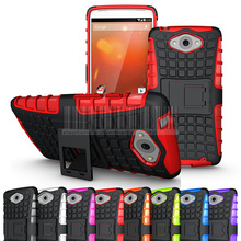 Armor Heavy Duty Hard Cover Case Silicone Protective Skin Double Color For Motorola Droid Turbo XT1254(China)