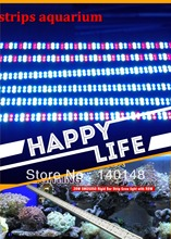 Free shipping DC12V program dimmable smd 5050 led strips aquarium lights for indoor reef lighting 660nm blue 460nm white 12000K