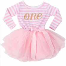 Newborn Little Baby Girl Dress Princess Toddler Girls Clothes Tutu Baby Dresses For 1-2 Years Birthday Party Children Clothing(China)