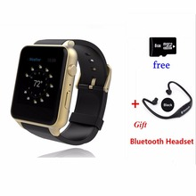 Wearable Device Bluetooth Smart Watch android phone GT88 Heart Rate SIM Card for iphone sony huawei xiaomi phone pk iwatch/gt08(China)