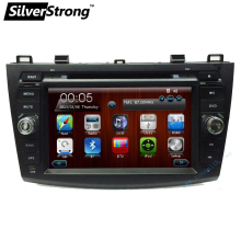 Free shipping 2DIN Car DVD GPS For Mazda 3 DVD Mazda3 navigation with Bluetooth Radio RDS steering wheel control stereo audio