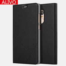Buy ALIVO Brand Xiaomi Redmi Note 3 Redmi Note3 Luxury leather case Window View PU flip Leather Cover phone case for $6.74 in AliExpress store
