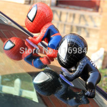 1pcs Red or Black Great Gift Suction Cup  for Mirror Car Windows Lovely Doll Decoration