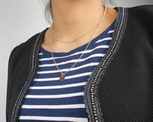 Coin disc necklace and satellite chain combo(China)