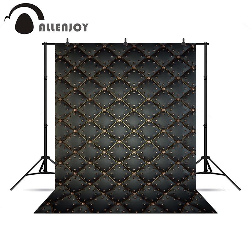 Allenjoy photographic camera Golden diamond black headboard bed elegant royal luxury background for photo shoots backdrops<br><br>Aliexpress