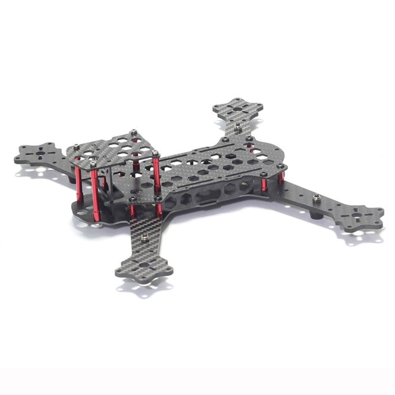 FEW-250 Carbon Fiber Ultra Light 110g Quadcopter Frame Kit Integrate PCB Distribution Board For FPV Photography RC Frame Drone<br>