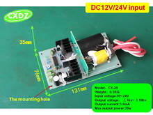high voltage power supply with 10KV 12V/ 24V Input Automobile Air Purifier air cleaner HV generator