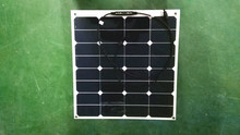 flexible solar panel 40w customized size 12V solar panel battery charger