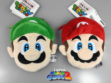 2 Styles Super Mario Bros Coin Purse Unisex Wallet Multi-functional Kawaii Bag Anime Plush Toys(China)