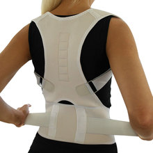 Sitting Posture Corrector Adjustable Magnetic Shape Body Shoulder Brace Belt Men And Women Back Vertebra Correct Therapy HB88