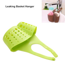 Free Shipping Kitchen Sink Bathroom Holder Hanging Strainer Organizer Storage Shelving Holder #C