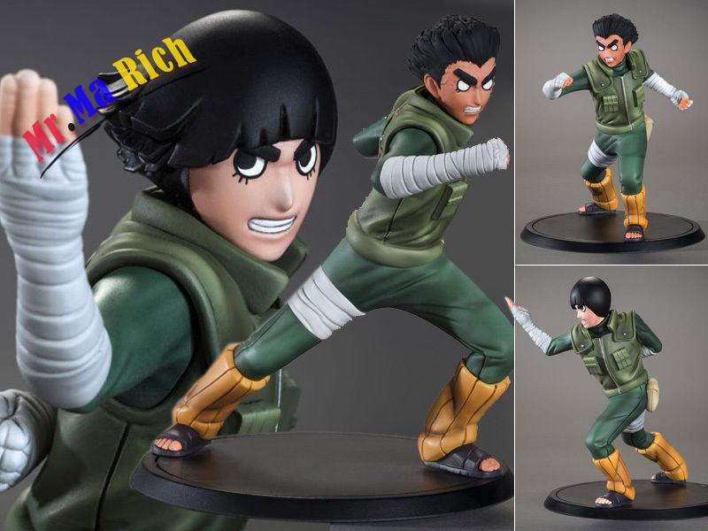 Collections Anime Figure Toy Naruto Rock Lee Figurine Statues 16cm<br>