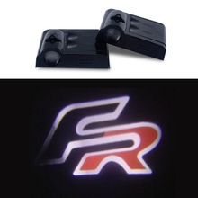 AUXITO Car Door Light Projecto Logo LED For FR SEAT Leon Ibiza Altea Arosa Cordoba Toledo Alhambra Exeo Mii(China)
