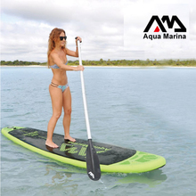 300*75*10cm AQUA MARINA BREEZE inflatable SUP stand up paddle board surf board surfboard boat fishing kayak inflatable leg leash