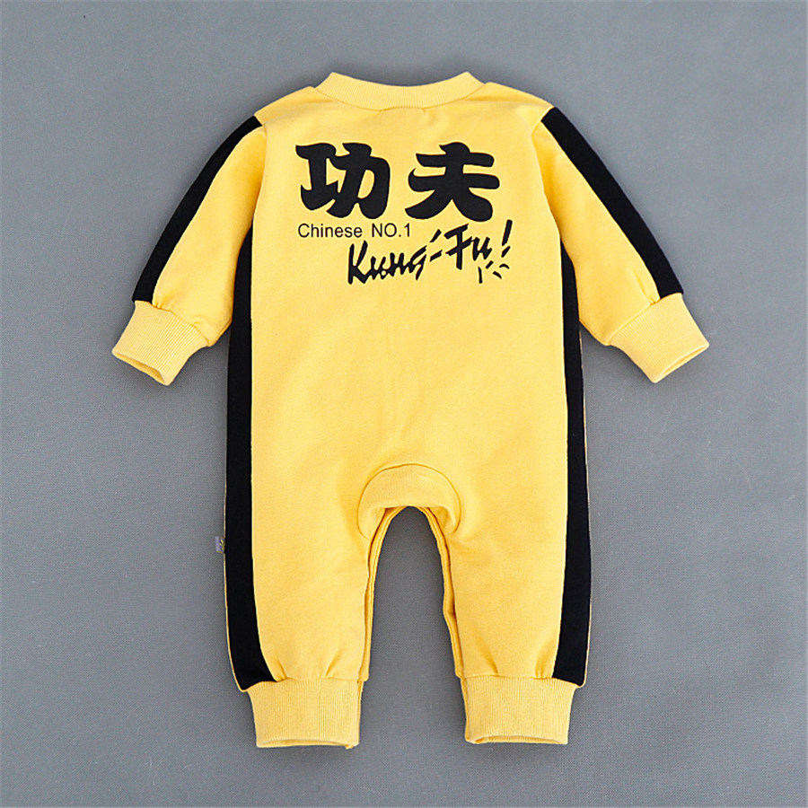 New 2017 kung fu long sleeved cotton baby clothes high quality newborn baby boy and girl jumpsuit infant clothing<br><br>Aliexpress