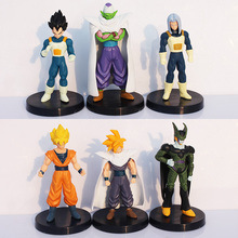 Dragon Ball Z PVC Action Figures Cell/Goku/Vegeta Figure Toys Best Gift Collection Model Toy Retail