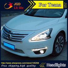 Auto Part Style LED Head Lamp for Nissan Teana 2013-2016 led headlights drl hid Bi-Xenon Lens low beam