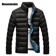 Mountainskin Winter Men Jacket 2017 Brand Casual Mens Jackets And Coats Thick Parka Men Outwear 4XL Jacket Male Clothing,EDA104(China)