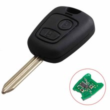 1PCS 2 Button Remote Locking Key With ID46 Chip 433MHz For Citroen SX9 Blade Fob(China)