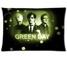 New Design 20x30 inch bedding Nice pillow cover Green Day Band best wedding pillowcase(China)