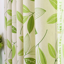 byetee Cotton Linen Modern Curtain Livingroom Curtain Bedroom Window Curtain Green Blackout Curtains For Living Room Tulle