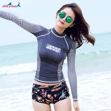 Women's UPF 50+ Sun Shirts for Men and Women Fast Drying Base Layer Tee Shirt for Water Sports Swimwear Sun Protection