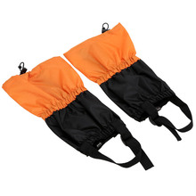 Children Gaiters 1 Pair Kid Shin Protect Outdoor Waterproof Windproof Fleece Leg Protect Guard Skiing Climbing Gaiters Equipment