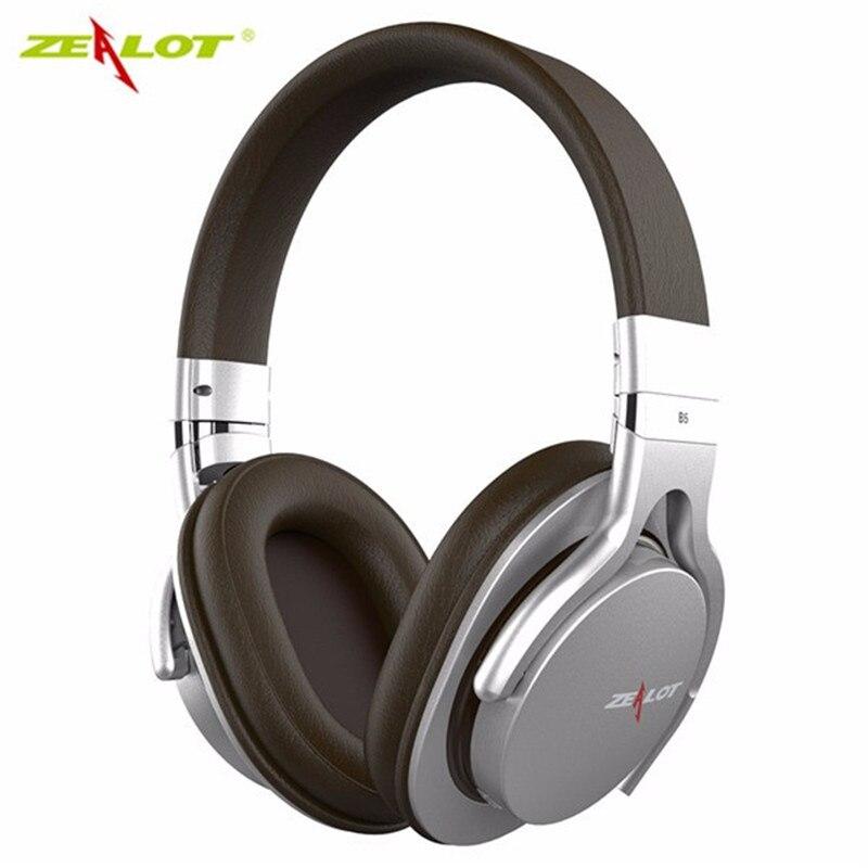Hot Sale ZEALOT B5 Stereo HD Wireless Bluetooth 4.0 Headphone Headset With Microphone Support TF Card Universal Headband Music<br><br>Aliexpress