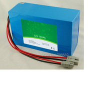 LIFEPO4 Battery 12 V100AH  with BMS TB12100F P105A for caravan,sweeper,forklift machine,truck and so on PVC  package D
