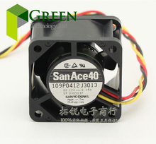 New San Ace 40 server fan 4028 40*40*28MM 12V 0.35A Server case cooling fan 109P0412J3013 with 3pin(China)