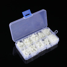 300pcs/set M3 Nylon Cross Screws Hex Nut Standoffs Varied Length Assortment Kit Fastener Hardware With Box(China)
