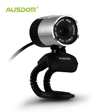 AUSDOM AW335 1080P HD USB Webcam Rotates 360 Degree Network Camera with Built-in Mic for Skype/ FaceTime / YouTube / Hangouts
