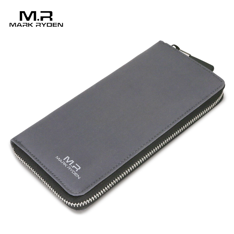 MARK RYDEN Long Wallets for Teenagers Water Repellent Zipper Wallet Card Holder Casual Style Purse<br>