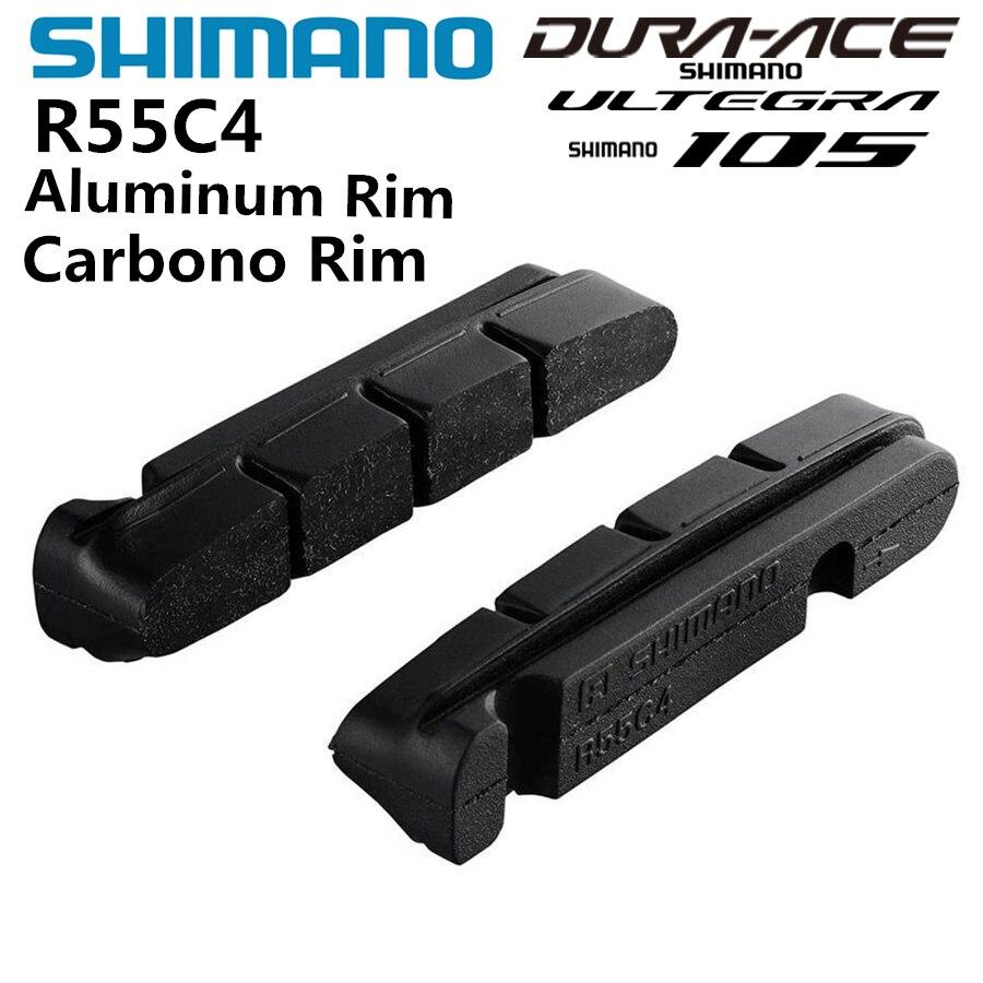 Shimano R55C4 BR-6810 Cartridge Brake Shoes Pads Set fits Ultegra 105 1 Pair