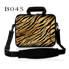 "Tiger Stripes 10"" 10.1"" Laptop Sleeve Handle Case Bag For ASUS Eee Pad TF101 TF201 TF300 Tablet/ 10.1"" ThinkPad Tablet 2"