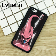 LvheCn TPU Phone Cases For iPhone 6 6S 7 8 Plus X 5 5S 5C SE 4 4S ipod touch 4 5 6 Cover Dragon Ball Z Villain Power Up Rage(China)