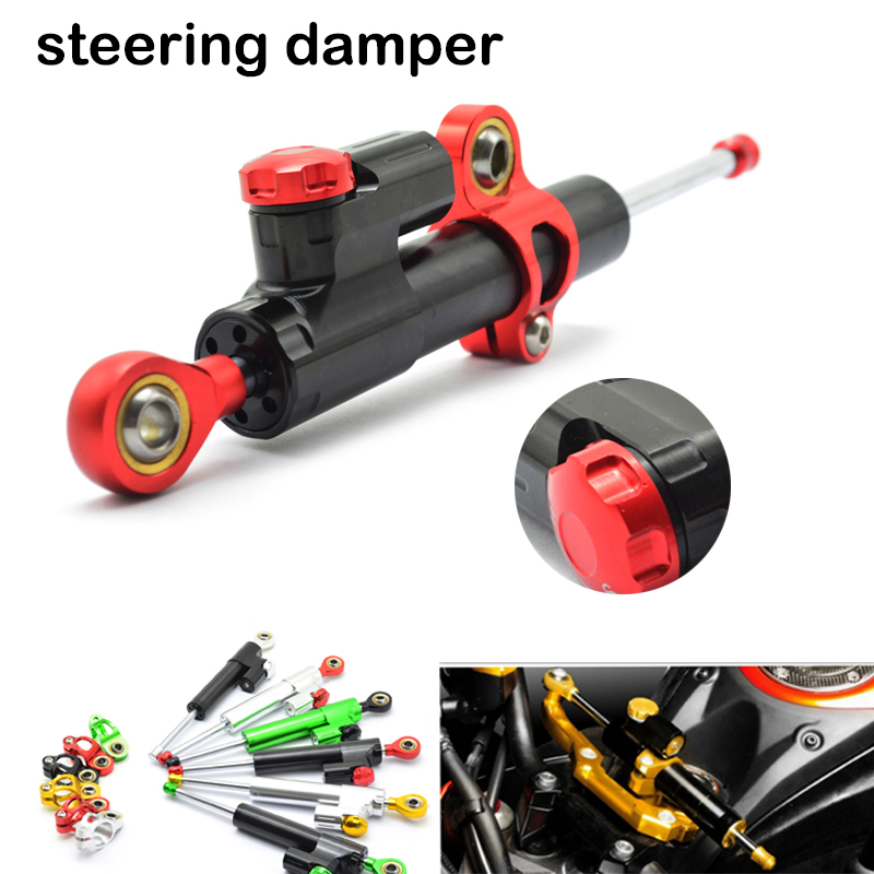 Universal Adjustable Motorcycle Steering Damper Stabilizer Adjustable For BMW R 1200 GS R1200GS R 1200GS F 800 R F800R K1300R<br>