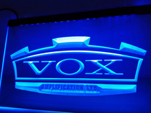 LL180- VOX Amplifier Guitar Bass Band LED Neon Light Sign home decor crafts(China)
