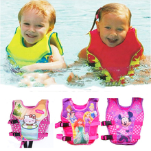 New child Life Jacket Floating Vest Swim Trainer Swimsuit Float Boy Girl Swimming Pool Accessories Float Piscine Vest