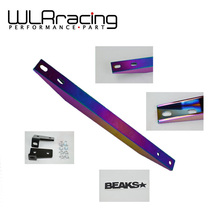 WLRING STORE- NEO Chrome SUBFRAME LOWER TIE BAR For RSX 02- 06 DC5 TYPE-S CIVIC 01-05 EP3 EM2 ES1 WLR-TB31CR(China)