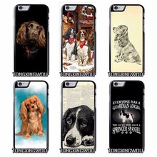 Spaniel Dog Cover Case for Sony Z1 Z2 Z3 E5 Z5 Compact C3 C4 C5 M2 M4 T3 X XA XZ Performance huawei P8 P9 Lite